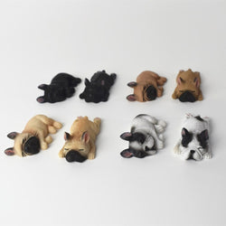 Sleeping French Bulldog Small Figurine Decoration