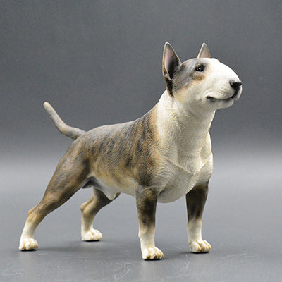 Bull Terrier Model Ornaments Resin Realistic Figurine