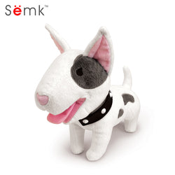 Bull Terrier Dog Plush Stuffed Animal Toy