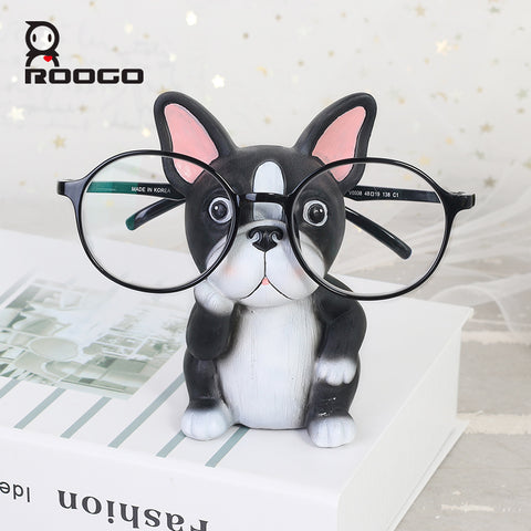 Cute Boston Terrier Sitting Decoration Figurine