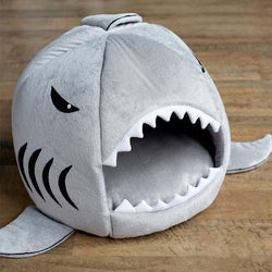 Soft Shark Style Warm Dog House