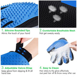 Silicone Dog Brush Shedding Hair Removal Glove