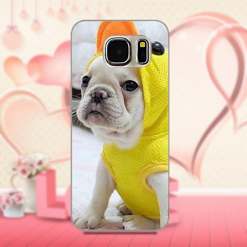 French Bulldog Dressed Duck Costume Phone Case for Galaxy