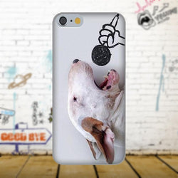 Bull Terrier Singing Heart Out Phone Case for iPhone