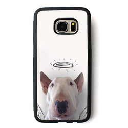 Bull Terrier Angel Halo Bull Terrier Phone Case for Galaxy