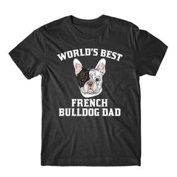 World's Best French Bulldog Dad Dog Men's T-Shirt