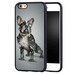French Bulldog Exo Skeleton Phone Case for iPhone