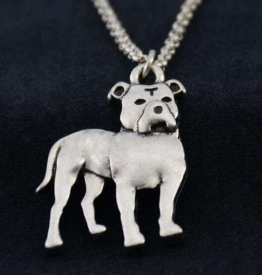 3D Pit Bull Pendant Necklace