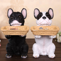 French Bulldog Key Holder Stand Figurine Ornament