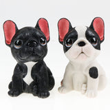 French Bulldog Puppy Sitting Cute Ornament Figurine