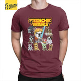 Frenchie Wars Funny Men's T-Shirt