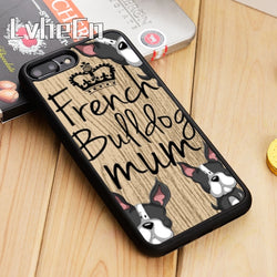 French Bulldog Mum Crown Phone Case for iPhone and Galaxy