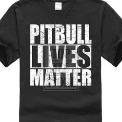 Pitbull Lives Matter Men's T-Shirt