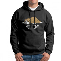 Not Today English Bulldog Men's Hoodie