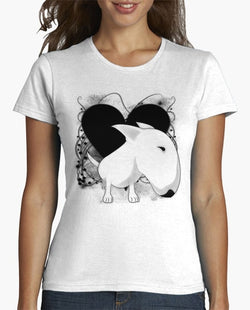 Bull Terrier Big Head Cartoon Women's T-Shirt