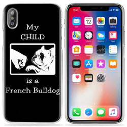 My Child is a French Bulldog Phone Case for iPhone