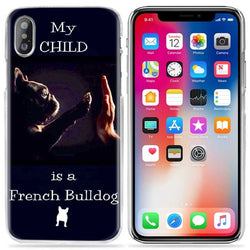 My Child is a French Bulldog Five Phone Case for iPhone