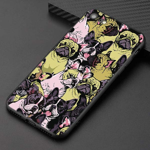 French Bulldog Collage Phone Case for iPhone