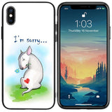 I'm Sorry Bull Terrier Phone Case for iPhone