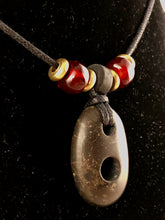 Stone Hole Pendant Necklace