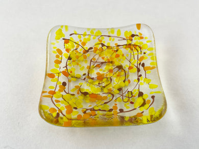 Small Fused Glass Bowl -