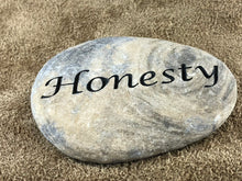 Honesty - Sand Carved Stone