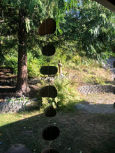 """Raining Rocks"" - Hanging Stone Garden Scultpure - Yard Art"