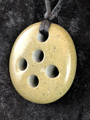 Drilled Beach Stone - Freefrom Focal Bead