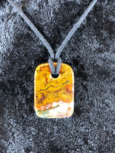 Moroccan Seam Agate Focal Bead