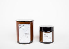 Hand Poured Coconut Wax Candle - Bella Notte