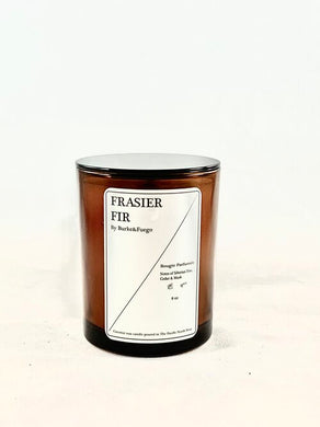 Hand Poured Coconut Wax Candle - Frasier Fir
