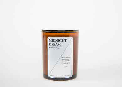 Hand Poured Coconut Wax Candle - Midnight Dream