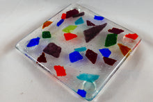 Confetti Fused Glass Coaster/Spoon Rest