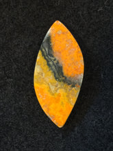 Bumble Bee Jasper Cabochon - back view