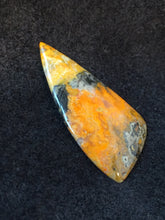 Bumble Bee Jasper Cabochon - side view