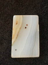 Mad River Agate - Rectangular Stone Cabochon - back view