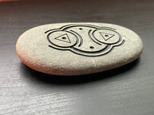 """Good Vibrations"" - Small Sand Carved Positive Energy Stone"