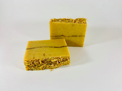 Handmade Artisanal Goat's Milk Soap - Orange/Clove