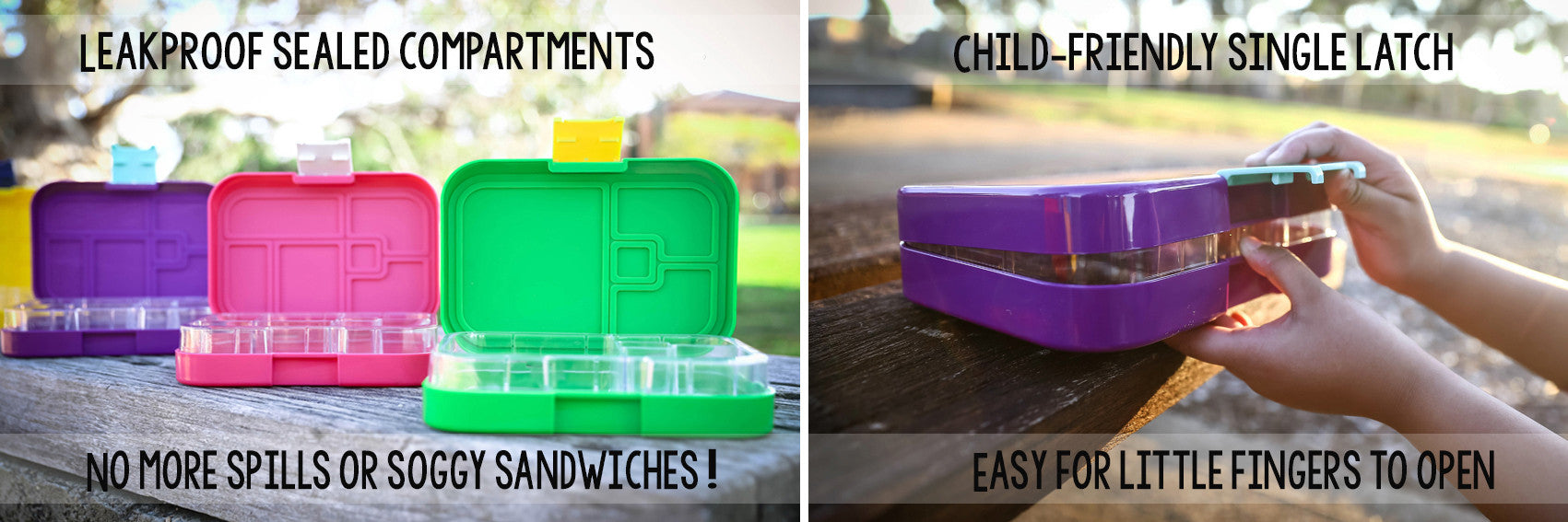 Munchbox Bento box Interchangeable trays maxi mini midi