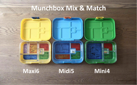 Maxi6 midi5 mini4 interchnageable trays