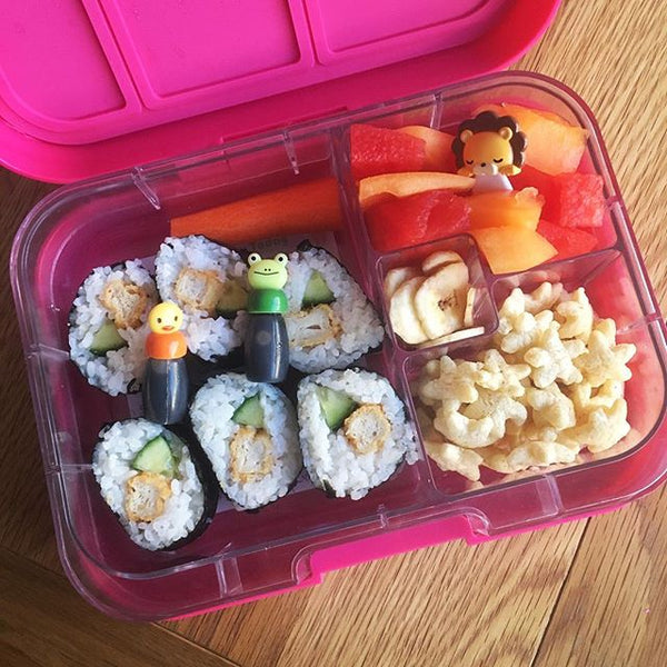 Munchbox Munch box bento bentobox mini mini4 yumbox pink princess