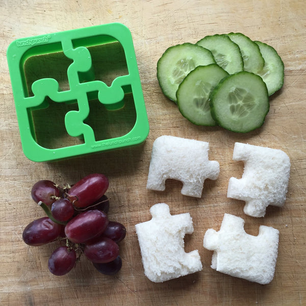 Lunch Punch Sandwich Cutter - PUZZLES