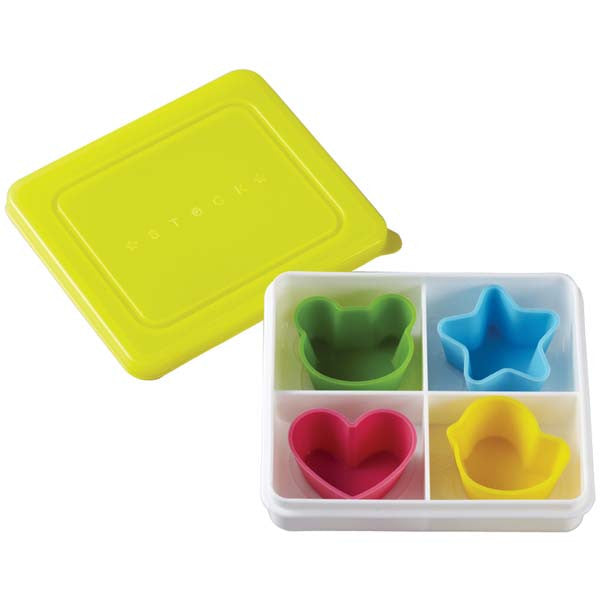 Silicone Cups in Snack Box