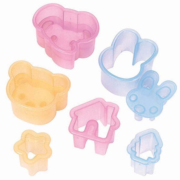 Animal Fun House Food Cutter Set