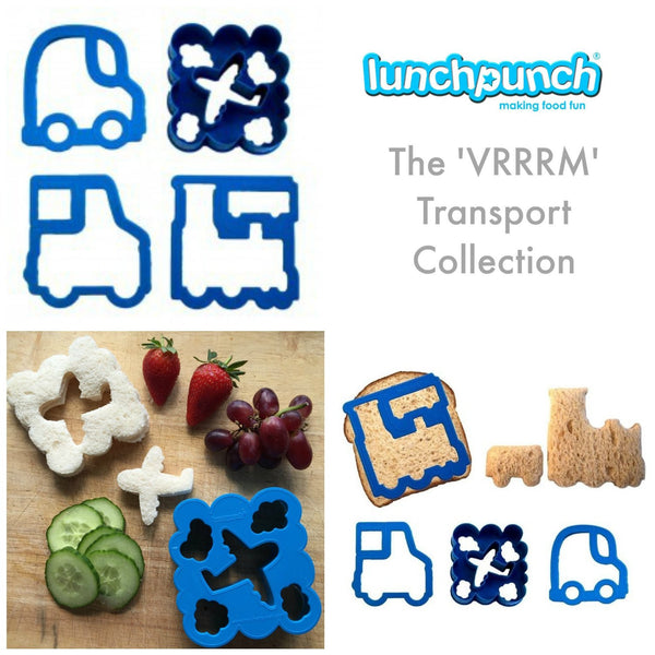 Lunch Punch Bento Sandwich Cutter - VrrRRMM! Transport
