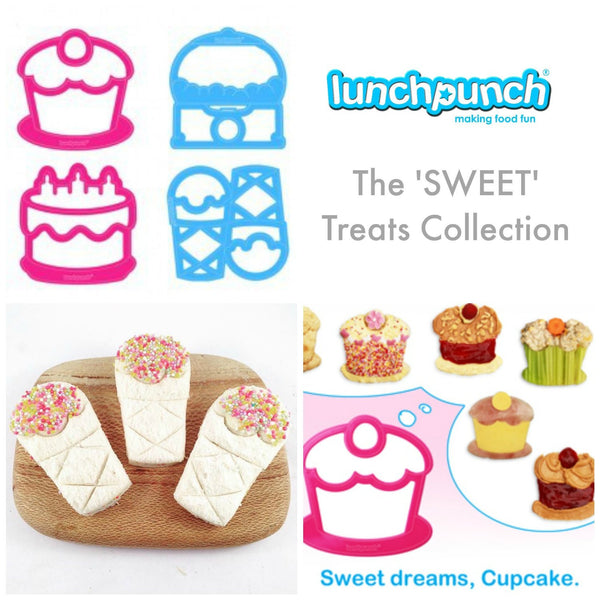 Lunch Punch Bento Sandwich Cutter - Sweet