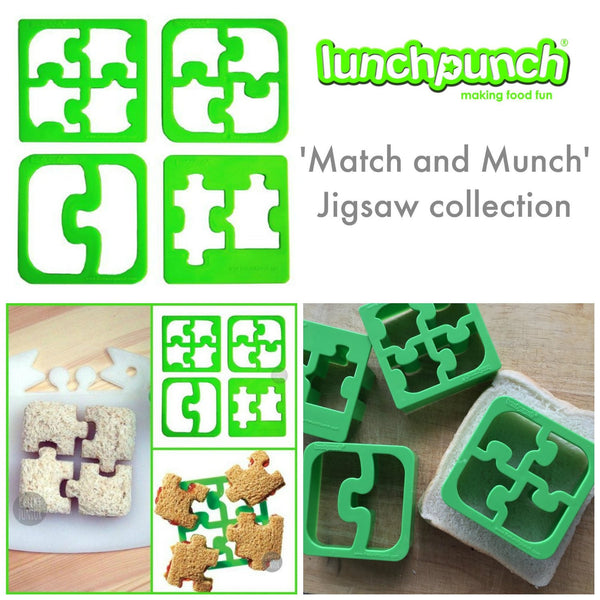 Lunch Punch Bento Sandwich Cutter - Match & Munch