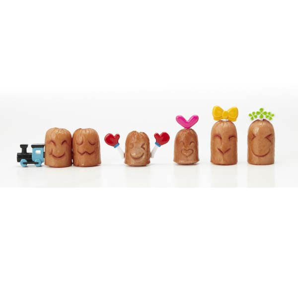 Train Folk Sausage Cutter & Pick Set