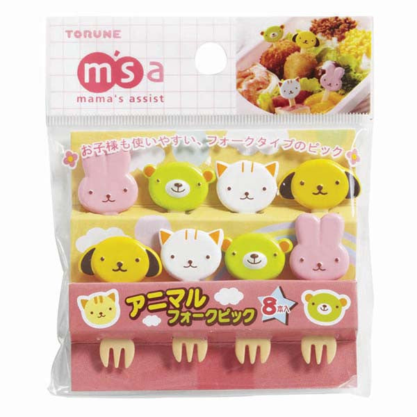 Animals Bento Fork Picks
