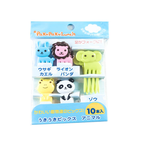 Elephants & Animals Food Forks